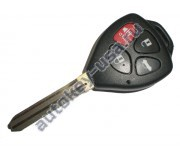Toyota(Тойота) ключ с дистанционным управлением (3 кнопки+panic), чип G. Лезвие TOY 43. Подходит к автомобилям из США с 2010 г.в. Номер ID:: HYQ12BDC. Модели:: RAV4 и др