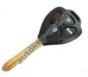 Toyota(Тойота) ключ с дистанционным управлением (3 кнопки+panic), чип G. Лезвие TOY 43. Подходит к автомобилям из США с 2010 г.в. Номер ID:: GQ4-29T. Модели:: Corolla и др