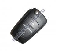 Hyundai(Хендай) Solaris выкидной ключ с дистанционным управлением 2 кнопки