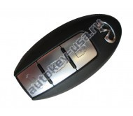 Infiniti(Инфинити) smart ключ 3 кнопки слотовый . Модели FX35,37,50 ,QX50,QX70 c 2014,FX30d,EX35,37 PCF7952 433Mhz