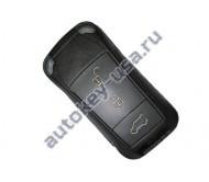 Porsche(Порше)  ключ с дистанционным управлением (3 кнопки + panic). Для автомобилей из США