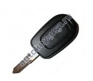 Renault(Рено) ключ 2 кнопки Duster рестайлинг с 2015г