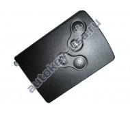Renault(Рено) smart-карта 4 кнопки 433Mhz,чип7952(Keyless GO).Megane III, Laguna III, Scenic III