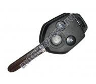 Subaru(Субару) ключ 3 кнопки лезвие TOY43R, 4D-60_80bit