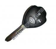 Toyota(Тойота) ключ с дистанционным управлением (3 кнопки), чип 4D-67. Лезвие TOY 43. Подходит к модели Camry 2006-2009г