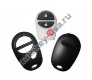 Toyota(Тойота) TUNDRA корпус брелока (2 кнопки+panic). Для автомобилей из США