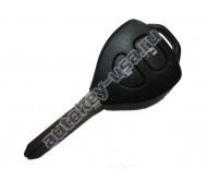 Toyota(Тойота) ключ с дистанционным управлением (2 кнопки), чип 4D-67. Лезвие TOY 43. Производитель Tokai Riki 433Mhz