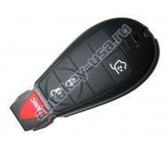 Chrysler smart ключ (3 кнопки+panic). Для автомобилей из США.