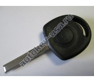 Chevrolet(Шевроле) заготовка ключа с местом под чип. Лезвие HU43