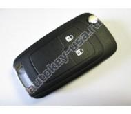 Chevrolet(Шевроле) ключ выкидной с дистанционным управлением (2 кнопки). Модели:: Cruze hatchback, Aveo II hatchback, Orlando