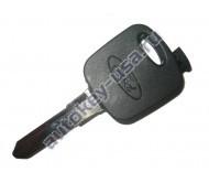Ford(Форд) заготовка ключа с чипом (чип 4D-63). Лезвие Mazda