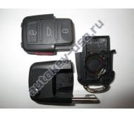 Volkswagen(Фольксваген) корпуса выкидного ключа (3 кнопки+panic). США