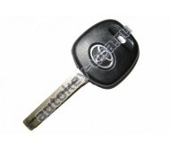 Toyota(Тойота) заготовка ключа с чипом (чип 4С), лезвие TOY 48