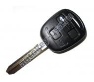 Toyota(Тойота) ключ с дистанционным управлением (3 кнопки), чип 4С. Лезвие TOY 43. Модель Camry до 2006г