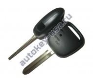 Toyota(Тойота) корпус дистанционного ключа (1 кнопка), лезвие TOY 43. Для автомобилей из Японии