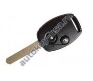 Honda(Хонда) ключ с дистанционным управлением (2 кнопки), чип 46. Модель Civic 2006-2011г
