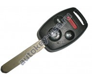 Honda(Хонда) ключ с дистанционным управлением (3 кнопки+panic), чип 46(электронный). Для автомобилей Civic 2008-2011