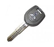 Mitsubishi(Мицубиси) заготовка ключа с чипом (чип 46)
