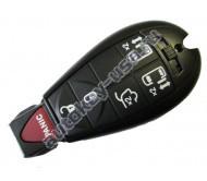 Dodge(Додж) smart ключ (5 кнопок+panic)