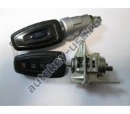 Ford(Форд) комплект личинок Focus III с двумя выкидными ключами