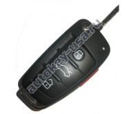 Audi выкидной ключ A4,S4,RS4 США с 2005 8E0837220R