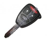 Jeep(Джип) ключ с дистанционным управлением (3 кнопок+panic). Модели:: GRAND CHEROKEE, LIBERTY, COMMANDER