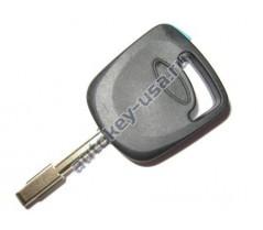 Ford заготовка ключа FO21 с местом под чип