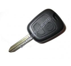 Citroen(Ситроэн) корпус (заготовка дистанционного ключа, 2 кнопки)