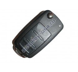 "Audi выкидной ключ A8 ключ с 2003г. Без системы Keyless""go 4E0837220M"