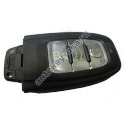 Audi(Ауди) smart ключ Подходит к моделям:A4,A5,A6,A7,A8,(не оригинал) 868Mhz после 2008 г.в