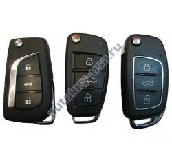 Toyota(Тойота) универсальный ключ с выкидным механизмом лезвия. Производитель: Keyless Engineering.