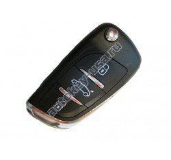 Jeep(Джип) универсальный ключ с выкидным механизмом лезвия. Производитель: Keyless Engineering.
