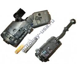 Citroen(Ситроен) замок зажигания, личинка двери и два лезвия выкидных ключей DS4/C4 с 2012