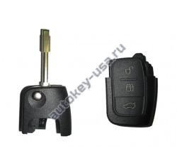 Ford(Форд) корпус выкидного ключа 3 кнопки с лезвием FO21