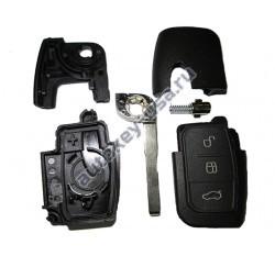 Ford корпус выкидного ключа 3 кнопки