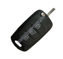 Hyundai(Хендай) i30 выкидной ключ с дистанционным управлением.(Для автомобилей с 2012г.в.)