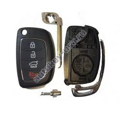 Hyundai(Хендай) корпус выкидного ключа (4 кнопки)