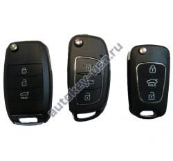 Hyundai(Хендай) универсальный выкидной ключ. Производитель: Keyless Engineering.