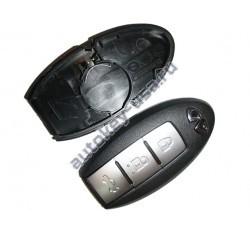 Infiniti (Инфинити) корпус smart ключа со слотом