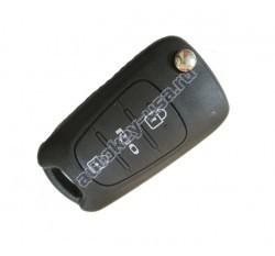 Kia(Киа) RIO выкидной ключ с дистанционным управлением 2 кнопки