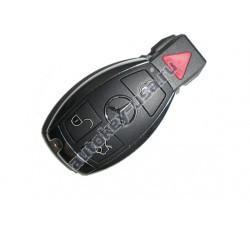 Mercedes(Мерседес) корпус smart ключа 3 кнопки+panic
