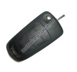 Opel(Опель) выкидной ключ с дистанционным управлением. Модель ANTARA
