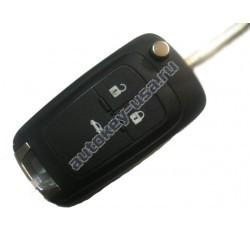 Opel(Опель) корпус выкидного ключа 3 кнопки