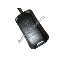 Porsche(Порше) корпус дистанционного ключа (3 кнопки + panic). Для автомобилей из США