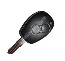 Renault(Рено) КЛЮЧ 2 КНОПКИ PCF 7947 лезвие VAC 102