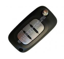 Renault(Рено) корпус выкидного ключа 3 кнопки