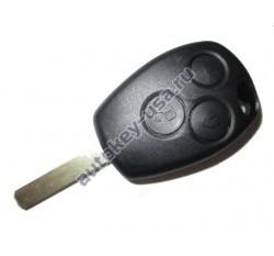 Renault(Рено) КЛЮЧ 3 КНОПКИ PCF 7946