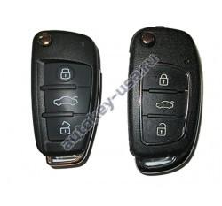 Универсальный выкидной ключ для многих моделей SsangYong(САНЙОНГ). Производитель: Keyless Engineering.
