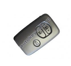 Toyota(Тойота) smart ключ 3 кнопки.MDL B74EA.Подходит к модели Prado 150 c 2009 г.в