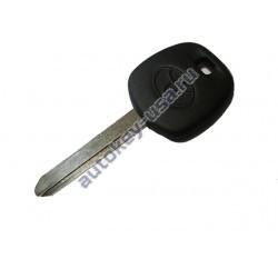 Toyota(Тойота) заготовка ключа с чипом (чип 4D-70), лезвие TOY 47. Для автомобиле английской сборки